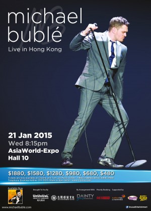 141029_MichaelBuble_HK-Poster